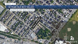 14-year-old shot and killed in Northeast Baltimore