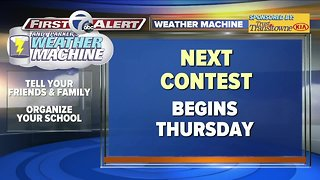Andy Parker Weather Machine Contest starts Thursday