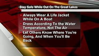 Coast Guard: Great Lakes waters are dangerously cold - Video