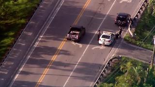Bicyclist struck in suburban West Palm Beach - Video