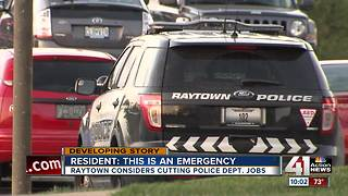 Raytown residents voice concerns about budget cuts - Video