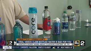 Debunking viral videos that claim bottled water is bad for you - Video