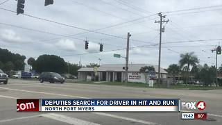 Lee County Deputies investigating hit-and-run - Video