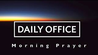 Morning Prayer - Jan 19, 2021