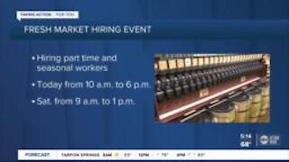 Fresh Market holds national hiring event at all 159 locations