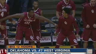 Oklahoma knocks off 7th-ranked West Virginia in OT, 89-87 - Video