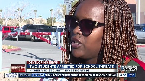 Two students arrested for School Threats