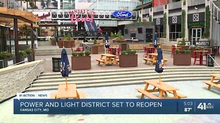 Kansas City's Power and Light reopens with changes in place