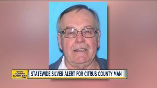 SILVER ALERT issued for 76-year-old Dunnellon man - Video