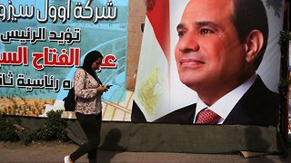 Egyptians Vote In A Presidential Race With A Foregone Conclusion - Video