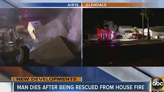 UPDATE: 1 dead after Glendale home fire - Video