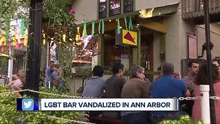 Vandals strike Ann Arbor bar known for supporting the LGBTQ community