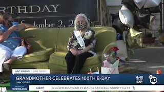South Bay woman celebrates 100th birthday