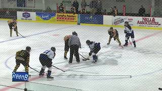 Hockey players raise money for autism awareness - Video