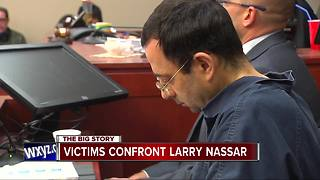 Sexual abuse victim to ex-doctor: 'You are a repulsive liar' - Video