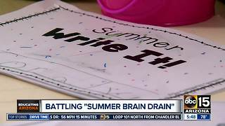 Battling 'Summer Brain Drain' with your kids - Video