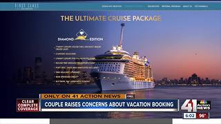 KC couple concerned about luxury cruise - Video