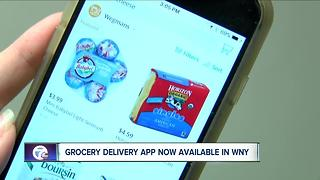 Grocery delivery app now available in WNY - Video
