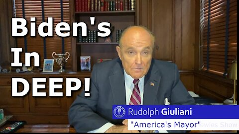 Guiliani on Biden -- There's More To Come!