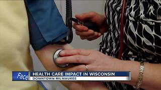 Health care impact in Wisconsin