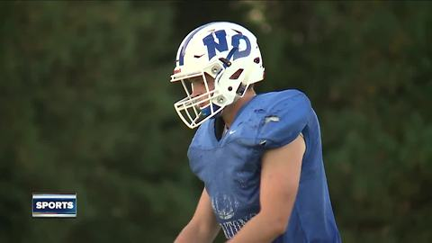 Notre Dame place-kicker playing for a bigger cause