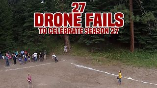 27 Drone Fails To Celebrate AFV's Season 27 - Video