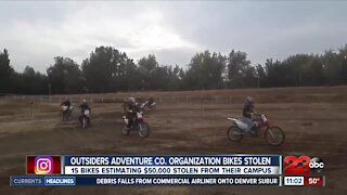 Outsiders Adventure Co. says $50K worth of motorcycles stolen from campus