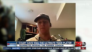 Condors teammates remember Colby Cave