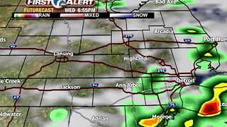 Afternoon storms ahead - Video