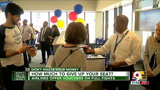 Willing to give up your seat on overbooked plane? Here's what you should you ask for - Video