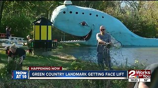 Green Country landmark getting face lift