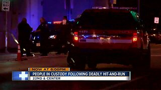 Police: People in custody following deadly hit-and-run
