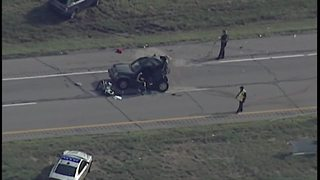 Part of SR 2 eastbound in Lorain County closed after crash involving commercial truck