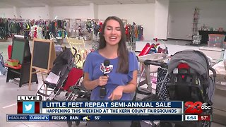 Little Feet Consignment Sale Opening