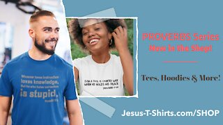 PROVERBS SERIES Mockup Video #25 by Jesus T-Shirts