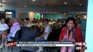 Naples American Legion still recovering after Irma - Video