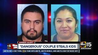 Amber alert issued after dangerous parents abduct two children in Tucson - Video