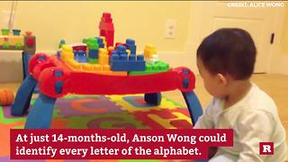 Anson Wong, boy genius, scores exceptionally high on IQ test - Video