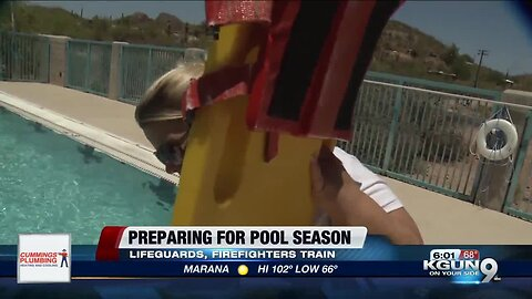 Lifeguards, firefighters join forces for pool training