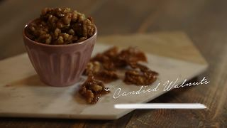 Simply Sweet Allison Candied Walnuts - Video