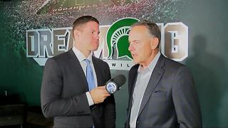 1-on-1 with Mark Dantonio - Video