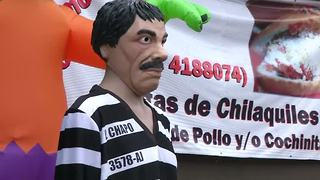 Trick or treat, it's El Chapo - Video