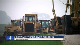 Foxconn's groundbreaking to bring a range of emotions for local homeowners - Video