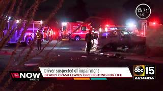 Driver from deadly crash in Phoenix suspected of impairment - Video