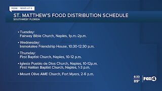 Local food pantries this week