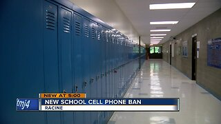 Racine schools ban cellphones for students