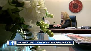 Pinellas County women push for equal wages - Video