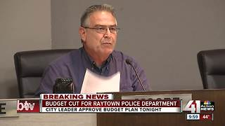 Raytown police budget cut by nearly $3 million - Video