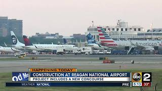 Construction project starts at Reagan National Airport - Video