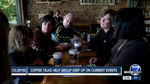 Current event coffee talks help get people with disabilities more involved in the community